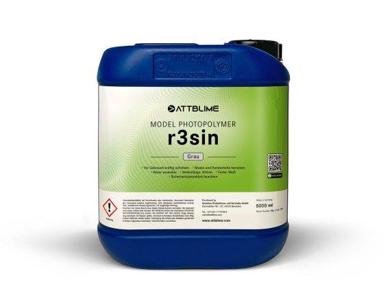ATTBLIME r3sin fotopolymerní pryskyřice pro 3D tiskárny | bílá | 1 litr