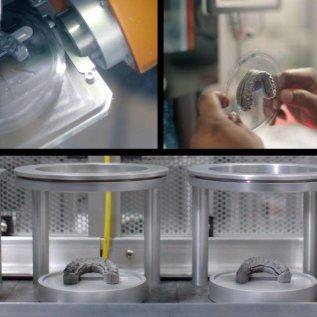 3D vytištěné formy na výrobu customizovaných rovnátek