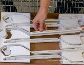 Komponenty do zubařského křesla A-Dec vyrobené 3D tiskem