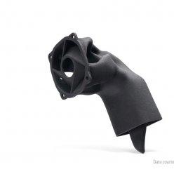 Optimalizovaný vzduchovod s ideálním vedením vzduchu vyrobený 3D tiskem