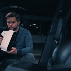 Skenovat můžete nejen exteriér automobilu, ale také jeho interiér.