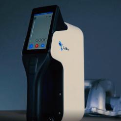 Pro sledování postupu skenování objektu slouží integrovaný dotykový displej